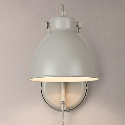 John Lewis Norton Wall Light with Cable