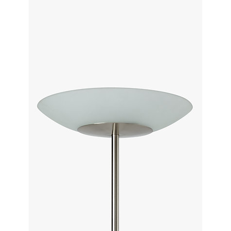 Buy john lewis zeta led uplighter glass top floor lamp for John lewis floor lamp reading