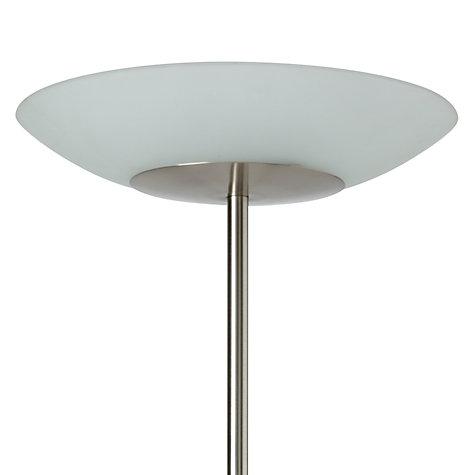Buy John Lewis Zeta Led Uplighter Glass Top Floor Lamp