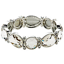Buy Monet Large Crystal Stretch Bracelet Online at johnlewis.com