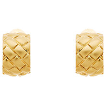 Buy Monet Satin Lattice Clip-On Earrings Online at johnlewis.com
