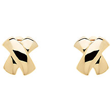 Buy Monet Cross Clip-On Earrings Online at johnlewis.com