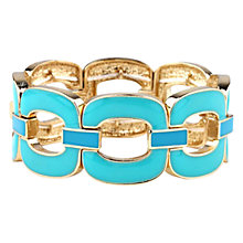 Buy Adele Marie Enamel Link Stretch Bracelet Online at johnlewis.com