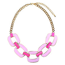 Buy Adele Marie Enamel Link Necklace Online at johnlewis.com