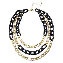 Buy Adele Marie Three Row Chain Necklace Online at johnlewis.com