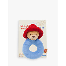 Buy Paddington Bear Soft Ring Rattle Online at johnlewis.com