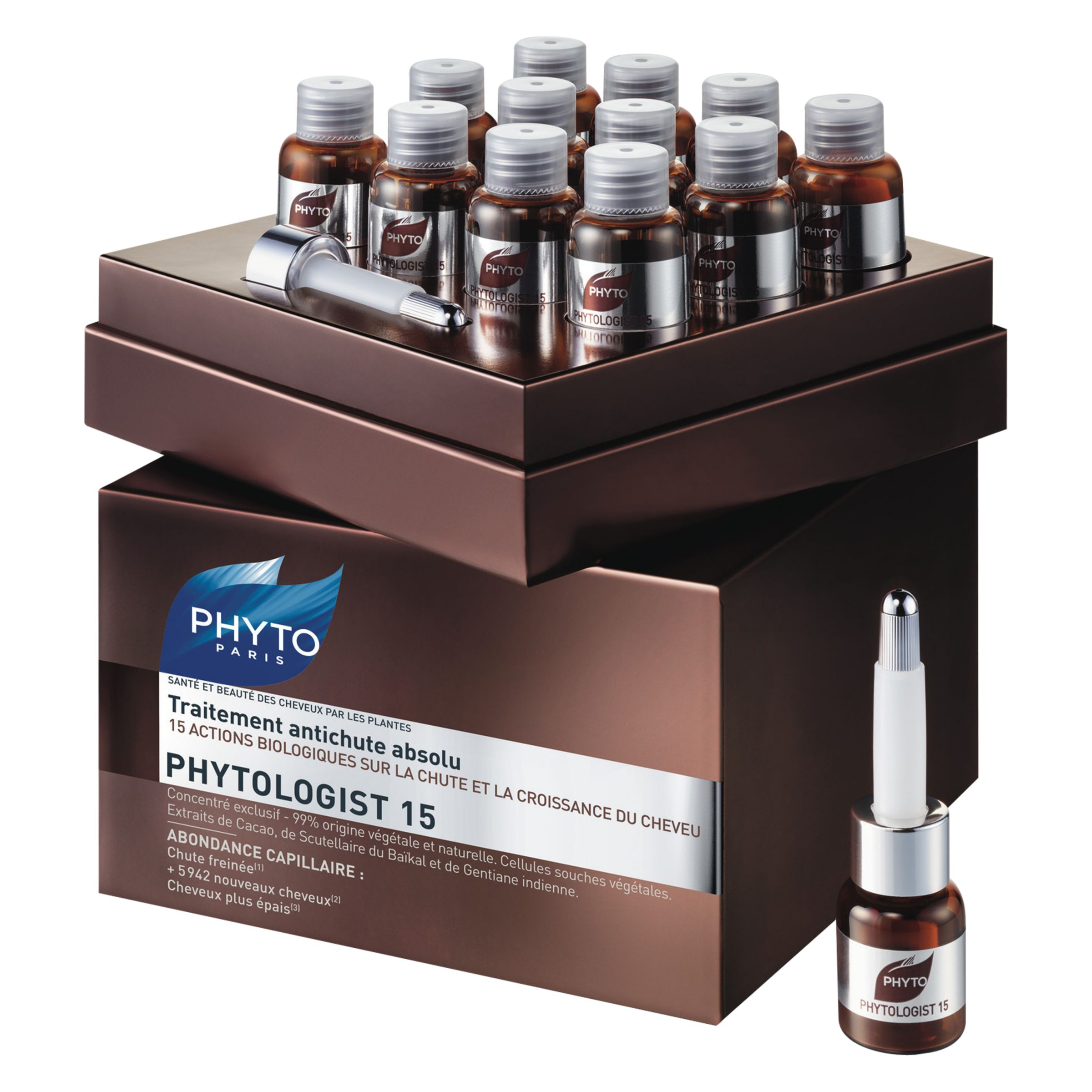 Phyto Phyto Phytologist 15 Absolute Anti-Hair Thinning Treatment, 12 x 3.5ml