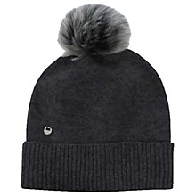 Buy UGG Luxe Toscana Pom Pom Beanie Hat, One Size Online at johnlewis.com
