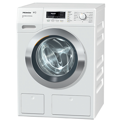 Image of Miele WKR 571 WPS Washing Machine, 9kg Load, A+++ Energy Rating, 1600rpm Spin, White