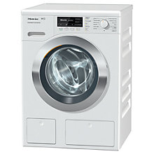 Buy Miele WKH 121 WPS Freestanding Washing Machine, 8kg Load, A+++ Energy Rating, 1600rpm Spin, White Online at johnlewis.com
