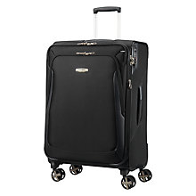 Buy Samsonite X'blade 3.0 Spinner 4-Wheel 71cm Medium Suitcase, Black Online at johnlewis.com