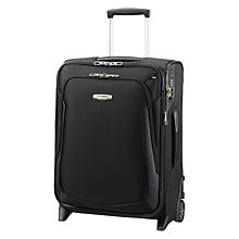 Buy Samonsite X'Blade 3.0 Upright 2-Wheel 55cm Cabin Suitcase, Black Online at johnlewis.com