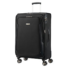 Buy Samsonite X Blade 3.0 Spinner 4-Wheels 78cm Suitcase, Black Online at johnlewis.com
