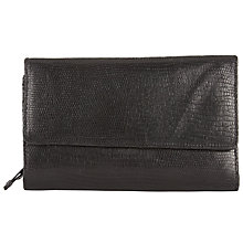 Buy John Lewis Rosa Plain Leather Extra Large Flap Purse Online at johnlewis.com