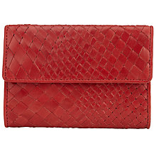 Buy Collection WEEKEND by John Lewis Rosa Weave Leather Purse Online at johnlewis.com