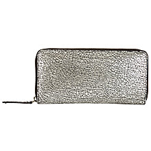 Buy Kin by John Lewis Lindsey Zip Around Leather Purse Online at johnlewis.com