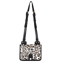 Buy Somerset by Alice Temperley Yarley Mini Leather Across Body Bag, Leopard Online at johnlewis.com