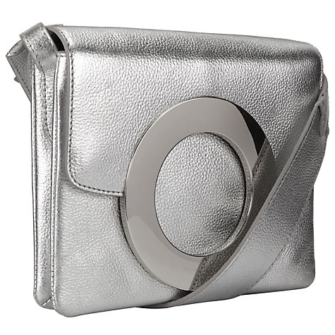 Buy Kin by John Lewis Fia Across Body Bag, Silver Online at johnlewis.com