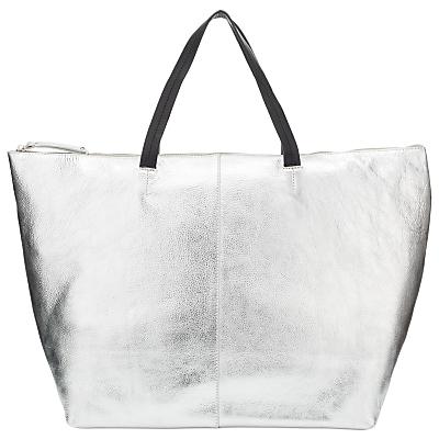 John Lewis Morgan Leather Tote Bag.
