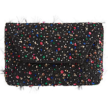 Buy John Lewis Karly Bead Clutch Bag, Multi Online at johnlewis.com
