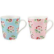 Buy Cath Kidston Stanley Mini Ashdown Mugs, Set of 2 Online at johnlewis.com
