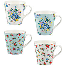 Buy Cath Kidston Stanley Mini 'Highgate' Mugs, Set of 4 Online at johnlewis.com