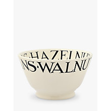 Buy Emma Bridgewater Black Toast Nuts Bowl Online at johnlewis.com