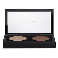 Buy MAC Brow Duo, Brunette Online at johnlewis.com
