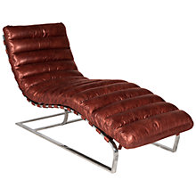 Buy Halo Joel Leather Chair Online at johnlewis.com