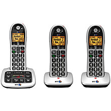 Buy BT 4600 Big Button Digital Cordless Phone With Advanced Call Blocking & Answering Machine, Trio DECT Online at johnlewis.com