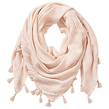 Buy Betty & Co. Tassel Square Scarf Online at johnlewis.com
