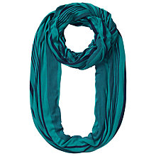 Buy East Stripe Jersey Snood, Blue Online at johnlewis.com