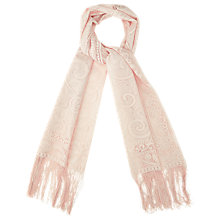 Buy Phase Eight Fay Lace Scarf, Nude Online at johnlewis.com