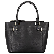 Buy John Lewis Pippa Small Grab Bag, Black Online at johnlewis.com