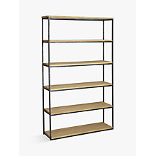 Buy John Lewis Calia Tall Wide Display Unit Online at johnlewis.com