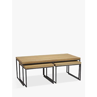 John lewis calia coffee table with nest of 2 tables 450 for Coffee tables john lewis