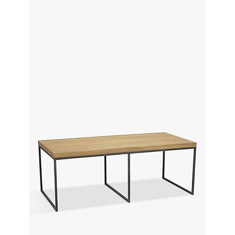 Buy john lewis calia coffee table with nest of 2 tables for Coffee tables john lewis