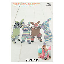 Buy Sirdar Assorted Bunnies Knitting Pattern, 4630 Online at johnlewis.com