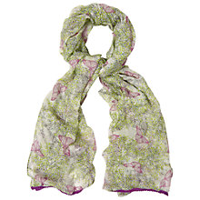 Buy White Stuff Sprigs And Butterfly Scarf, Multi Online at johnlewis.com