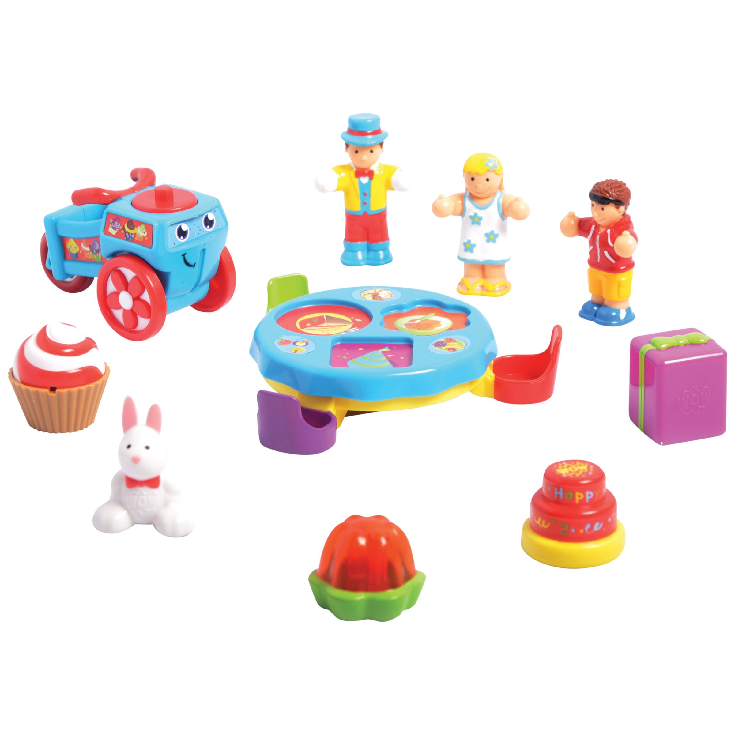 Buy WOW Toys Sort And Spin Birthday Party Playset John Lewis