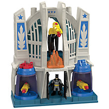 Buy Imaginext Batman and Superman Hall of Justice Online at johnlewis.com
