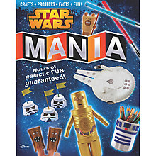 Buy Star Wars Mania Book Online at johnlewis.com