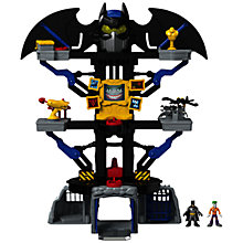 Buy Imaginext Batman Transforming Batcave Online at johnlewis.com