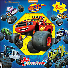 Buy Blaze and the Monster Machines My First Puzzle Book Online at johnlewis.com