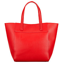 Buy John Lewis Tony Colour Grab Bag, Red Online at johnlewis.com