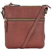 Buy John Lewis Harriet Small Leather Across Body Bag Online at johnlewis.com