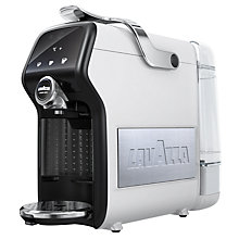 Buy Lavazza A Modo Mio Magia LM6000 Espresso Coffee Machine, Ice White + FREE Milk Frother Online at johnlewis.com