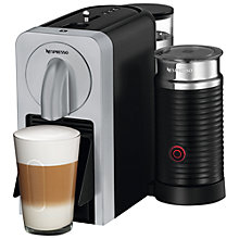 Buy Nespresso Prodigio & Milk Automatic Coffee Machine by Magimix With Bluetooth, Silver Online at johnlewis.com