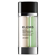Buy Elemis Biotec Skin Energising Night Cream, 30ml Online at johnlewis.com