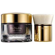 Buy Estée Lauder Re-Nutriv Ultimate Diamond Revitalising Mask, Noir, 50ml Online at johnlewis.com